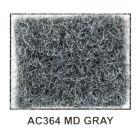 """Metra AC364-5 40"""" Wide x 5 Yard Long Acoustic Carpet - Medium Gray"""