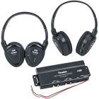 Power Acoustik HP-902RFT Wireless Headphones With Transmitter - Main
