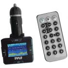 Pyle PLMP3C31B Wireless USB/SD Card FM Modulator/Transmitter with Bluetooth® Hands Free Kit