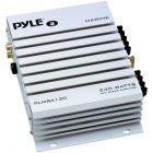 Pyle PLMRA120 2-Channel 240-Watt Waterproof Marine Amplifier