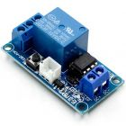 QMV 12VLR1 12 VDC SPDT Latching relay with on board switch and switch leads