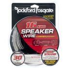 Rockford Fosgate RFWP16-30 30 Foot spool of 16-Gauge Frosted Speaker Wire