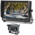 "Safesight-RM-1018AHD 10"" 1080P Commercial Back up monitor with sun shade - 2 AHD Video inputs"