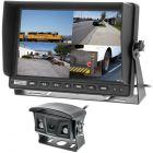 "Safesight-RM-1018QAHD 10"" 1080P Commercial Quad Screen with sun shade - 4 AHD Video inputs"