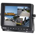 """SafeSight TOP-SS-D8001Q 8"""" Commerial Backup Monitor Quad Screen - Main"""