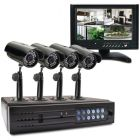 """Swann SWA44-D1C2M1 7"""" LCD Observation System with 4-Channel 320GB DVR & 4 Cameras"""