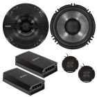 Sony XS-GS1621C 2-Way 6.5 inch Component Speaker System with Soft Dome Tweeters Bi-amp Design - Main