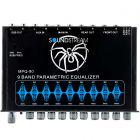 Soundstream MPQ-90 1/2 DIN 9-Band Graphic EQ w/ Subwoofer Level Control