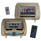 Tview T737DVPLTAN Headrest DVD Players - Main