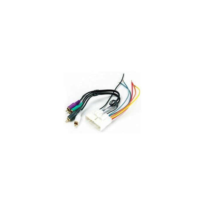 Metra 70 1713 Car Stereo Wiring Harness For 1998 2004 Isuzu Rodeo