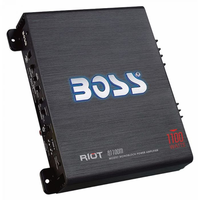 boss audio r1100m riot class ab monoblock 1100 watts  quality mobile video