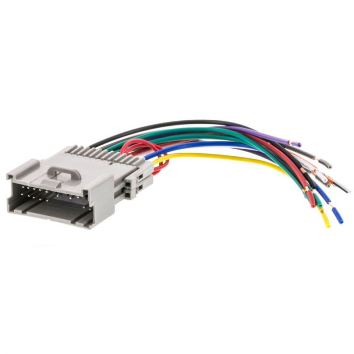Metra 70-2002 Car Stereo Wiring Harness for 2000 - 2005 Saturn vehicles | Receiver Wiring Harness Saturn |  | Quality Mobile Video