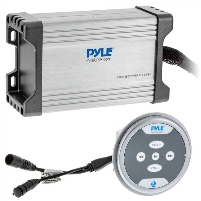 Pyle PLMRMBT7S Hydra Series 4-Channel 1,200-Watt Water-Resistant Marine  Class AB Amp with Bluetooth | Pyle Hydra Amp Wiring Schematic |  | Quality Mobile Video