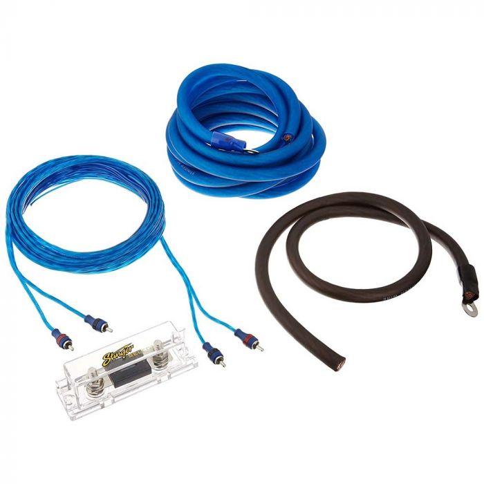 Stinger SSK0 1/0 Gauge Car Amplifier Installation KitQuality Mobile Video