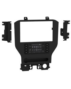 Metra 108-FD6CH Double DIN Car Stereo Dash Kit for 2015 - UP Ford Mustang for Pioneer's DMH-C5500NEX Multimedia Receiver