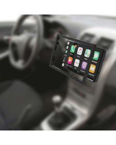 Metra 108-UN01 8 inch Pioneer DMH-C5500NEX Multimedia Receiver Car Stereo Universal Trim Kit