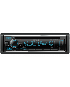 Kenwood KDC-BT778HD Single DIN Car Stereo CD Receiver with Bluetooth, HD Radio and Amazon Alexa