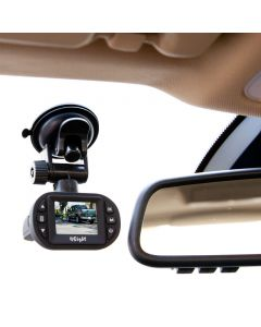 4SK106 1080p High Definition Dash Cam - Mounted in vehicle