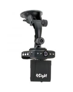 The original Dash Cam 4SK98 720p High Definition Dash Cam with 2.4 inch LCD monitor - Camera/IR Lights