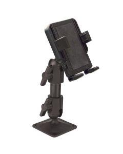 Panavise PortaGrip Phone Holder with 717-06 Pedestal Mount