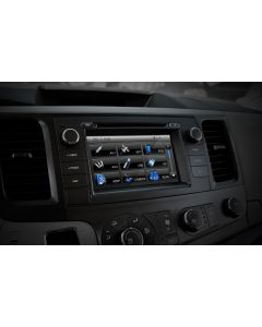 Rosen CS-SIEN11-US Factory Look 7 inch Double Din Navigation Receiver for 2011-2013 Toyota Sienna Vehicles