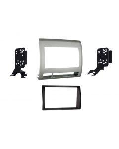 Metra 95-8214TG Textured Grey Double DIN Installation Kit