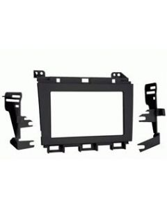 Metra 95-7427B Double DIN Mounting Kit for 2009 - 2014 Nissan Maxima Vehicles - Black