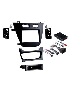 Metra 99-2022B Black Single or Double DIN Installation Kit