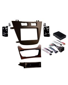 Metra 99-2022BR Brown Single or Double DIN Installation Kit