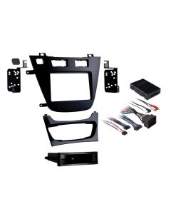Metra 99-2023B Black Single or Double DIN Installation Kit