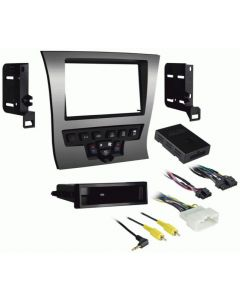 Metra 99-6525S Silver Double DIN Dash Kit for 2011-Up Chrysler 300 Vehicles-main