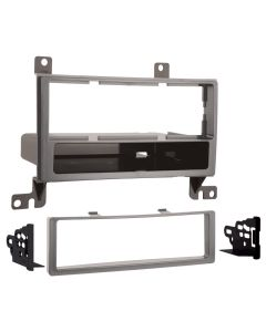 Metra 99-7325S Silver Single DIN Installation Kit