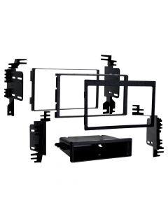 Metra 99-7358 Single or Double DIN Installation Kit