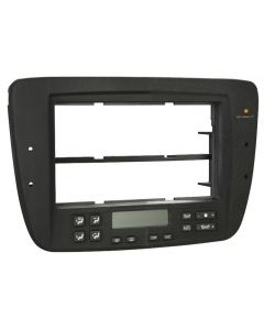 Metra 99-5719 Matte Black Dash Kit Turbokit ISO Single DIN or Double DIN Ford Taurus and Mercury Sable 2004-2007 Vehicles