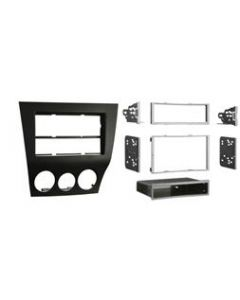 Metra 99-7515B Matte Black Dash Kit Turbokit ISO Single or Double DIN Mazda RX-8 2009-2010 Vehicles