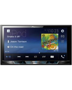 """Pioneer MVH-300EX 7"""" Double-DIN In-Dash Digital Media & A/V Receiver with Bluetooth"""