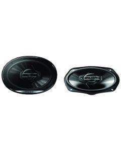 "Pioneer TS-G6930F G-Series 6"" x 9"" 400-Watt 3-Way Coaxial Speakers"