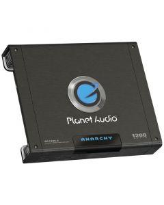 Planet Audio AC1200.2 Anarchy Mosfet Amplifier 2-Channel 1200W max 840W x 1 @ 4 Ohm Bridged 470W x 2 @ 2 Ohm