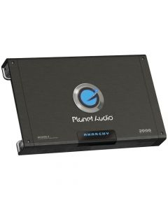 Planet Audio AC2000.2 Anarchy Mosfet Amplifier 2-Channel 2000W max 1400W x 1 @ 4 Ohm Bridged 700W x 2 @ 2 Ohm