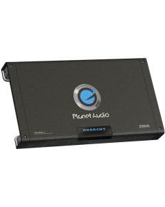 Planet Audio AC2600.2 Anarchy Mosfet Amplifier 2-Channel 2600W max 1800W x 1 @ 4 Ohm Bridged 900W x 2 @ 2 Ohm
