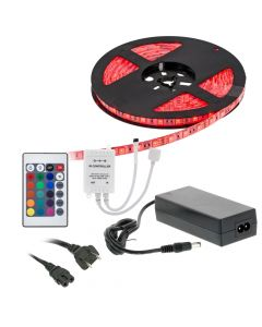 Accele LW200RFAC 16.5 Foot Flexible Full Color LED Light Strip Kit with RF remote control