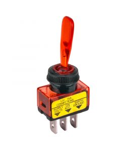 Accele 178RED Toggle Switch with Red LED indicator - Main
