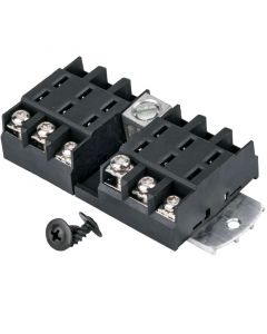 Accelevision 5415 6 Gang ATC Fuse distribution block - Mounting hardware