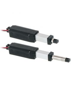 6101M Micro 12 Volt Linear Actuator - Open and Closed