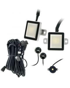 Safesight BSS300R Blind Spot Sensor Detection System with LED indicators - Main