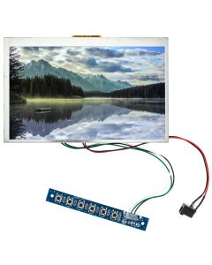 "LCD7WHDMIN 7"" Raw LCD monitor with VGA input and HDMI input"