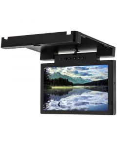 """Accelevision LCDBFD12W 12"""" Overhead Flip Down Roof Mount Monitor for Commercial Vehicles - Main"""