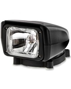 Accelevision MSL55-Black 55 Watt Motorized Spotlight with Waterproof Remote Control