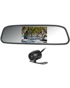 Accelevision RVM43CLIPK 4.3 inch Rearview Mirror Monitor with Mini Backup Camera - Main