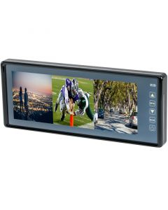 Accelevision RVM93 8.8 inch Widescreen TFT LCD Rear View Mirror Monitor - Main